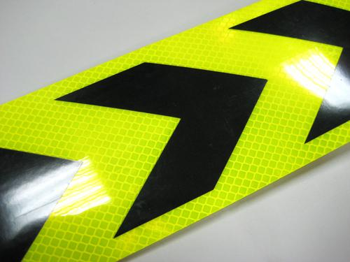 Honeycomb reflective sticker